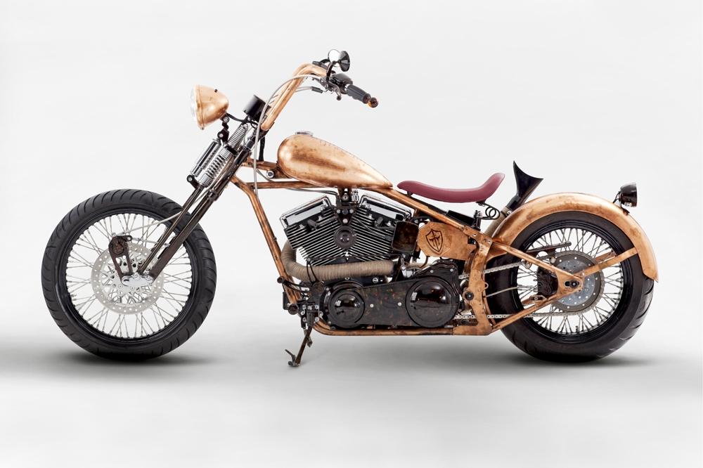 Custom chopper motorcycle wallpapers